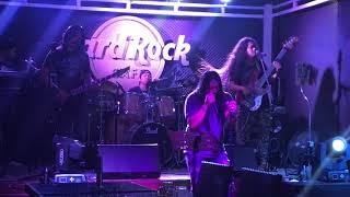Rockstorm in Hard Rock Cafe Siem Reap Cambodia. 2017-08-11