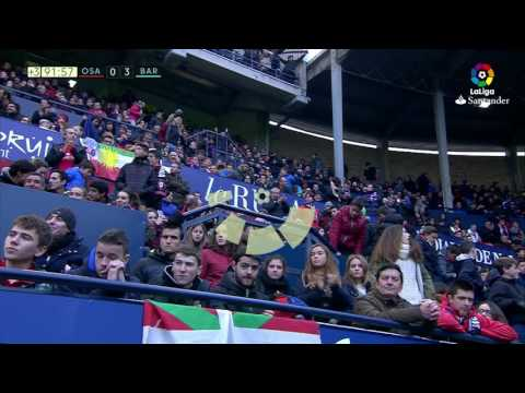 Golazo de Messi (0-3) Osasuna vs FC Barcelona