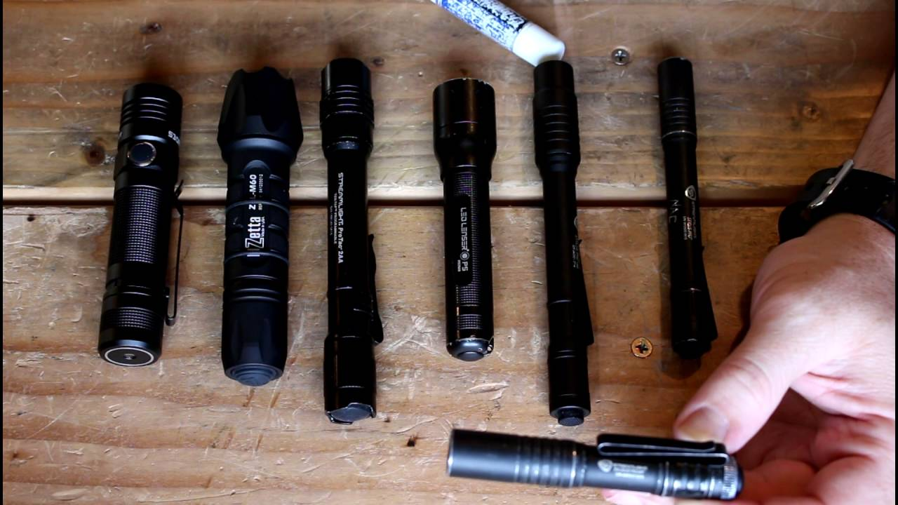 best pocket edc flashlight for the average person youtube