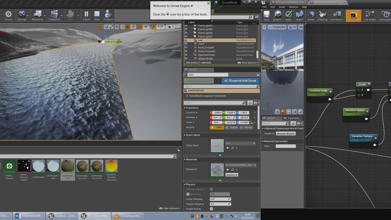 Ue4 Dynamic Water