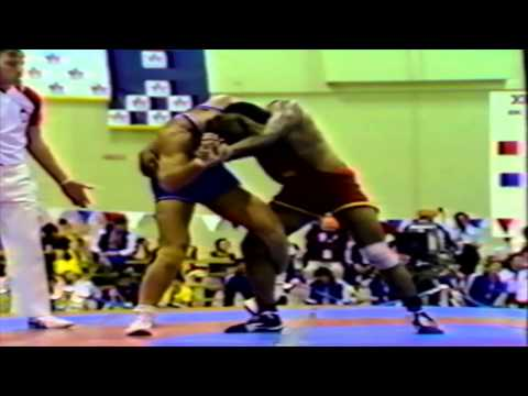 1978 Commonwealth Games: 82 kg Panna Lal (IND) vs. Richard Deschatelets (CAN)