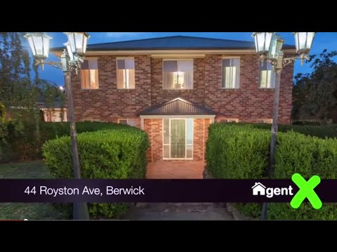AgentX Real Estate Berwick Presents - 44 Royston Avenue Berwick Property Tour