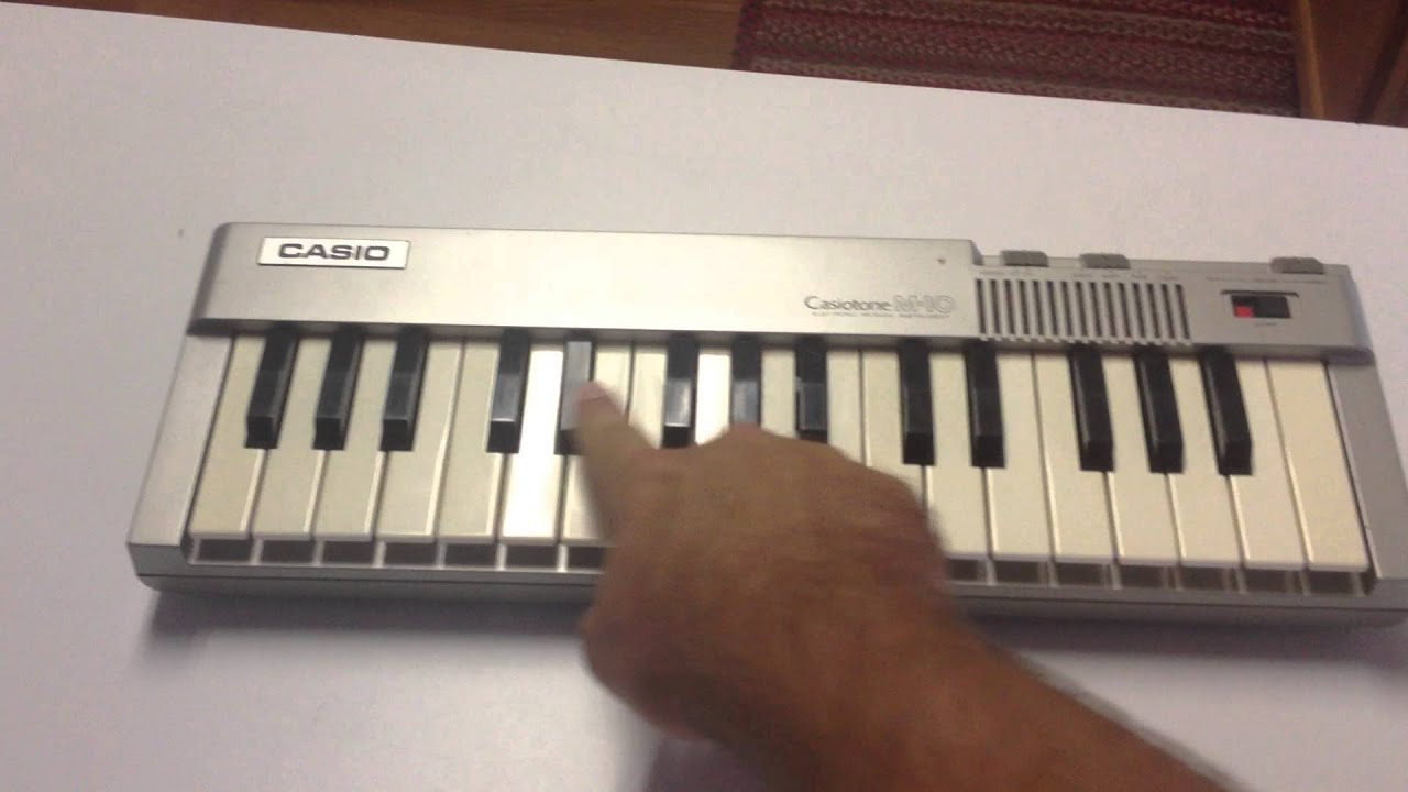 Casio Sa 1 Youtube Circuit Bent Sa75 Glitching Casiotone M 10