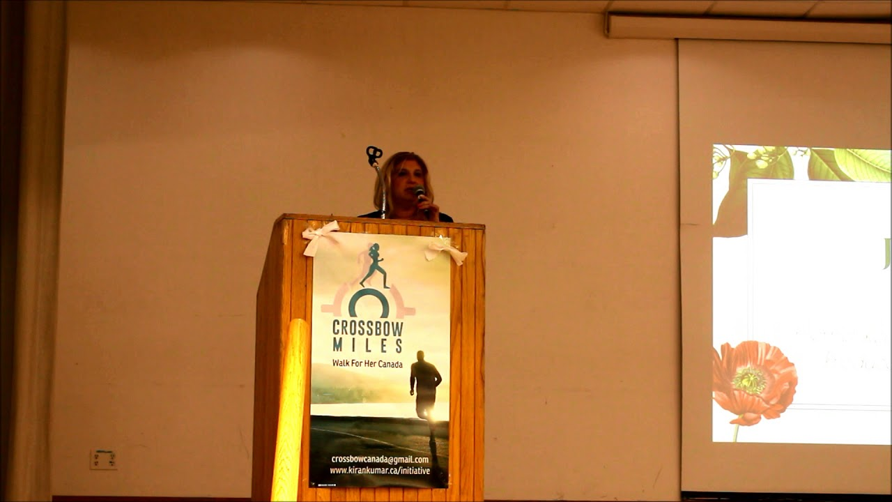 Janette's Women's One World Walk Event Speech