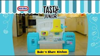 Little Tikes Tasty Junior Bake N Share Kitchen Commercial Youtube