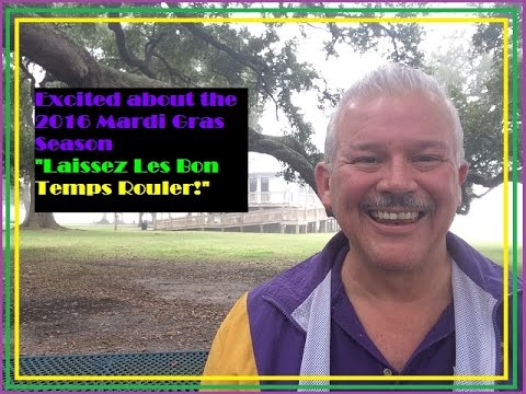 Excited About the 2016 Mardi Gras Season
