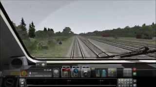 RG - Time Lapse - Train Simulator 2013 - Paddington to Reading (Class 43 HST Express)