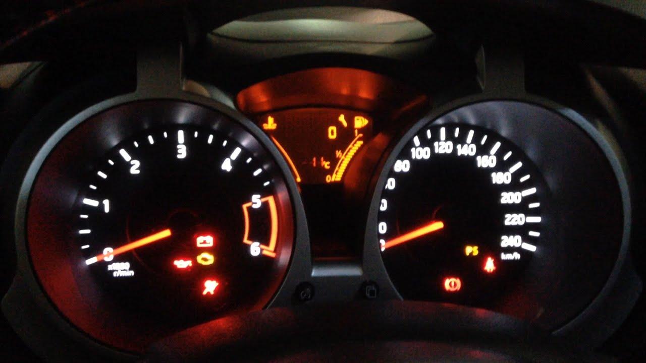 Nissan Juke Reset Service Oil Light Youtube