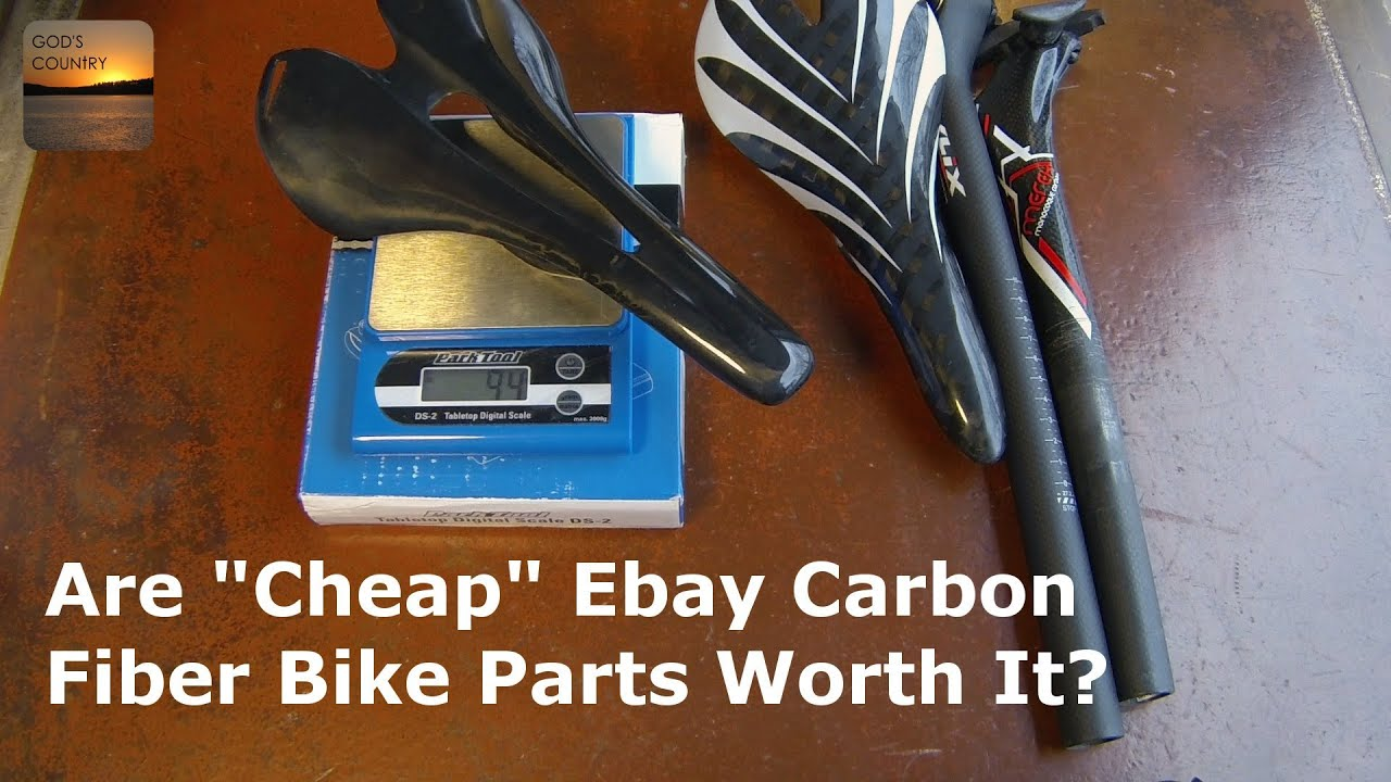 Are Cheap Ebay Carbon Fiber Bike Parts Worth Buying Youtube