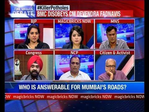 PWD, BMC miss CM Fadnavis' Deadline- The Urban Debate