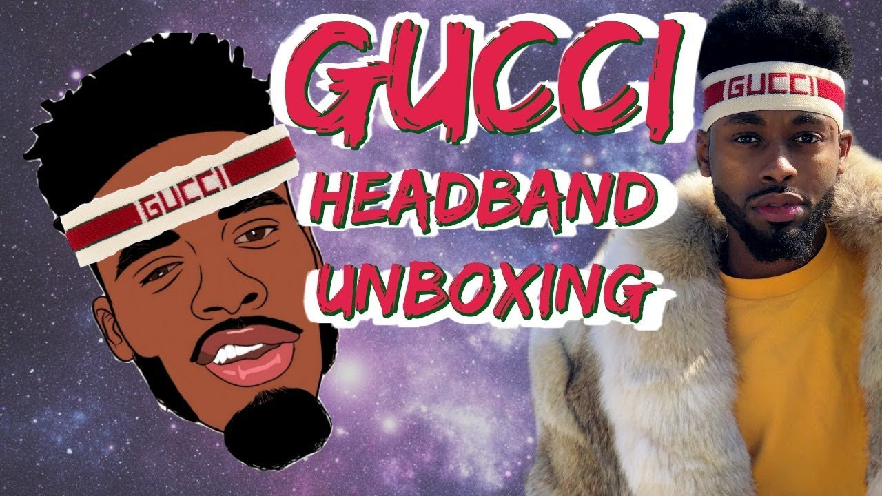 cbe58c535c7 Gucci stripe headband Unboxing and Review - YouTube