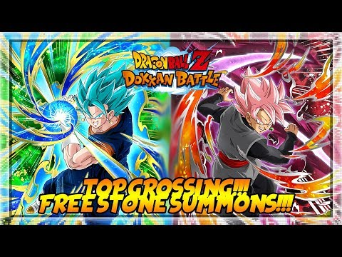 TOP IN BOTH STORES!!!! || FREE STONES SUMMONS!!!! || Dragon Ball Z Dokkan Battle