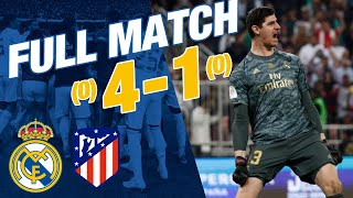 Full Match | Real Madrid 0 0 Atlético (4 1 Penalties) | Spanish Super Cup 2019/20 Final
