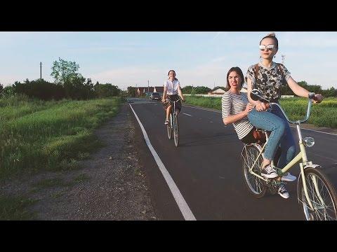 город Азов на велосипеде