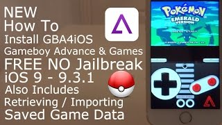 How To Install GBA4iOS Gameboy Advance & Games iOS 9 - 9.3.2 FREE NO Jailbreak iPhone, iPad, iPod T
