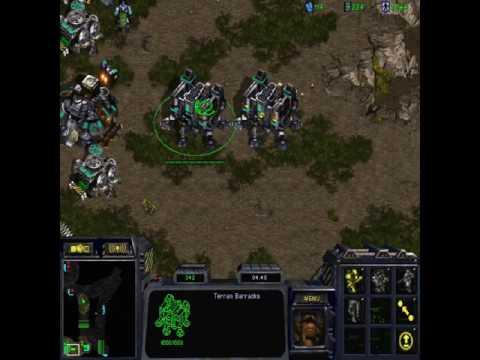 StarCraft Brood War (1.18 - Public Test Realm) 1v1 Connor5620 (T) vs GiTM.Terrifyer (Z)