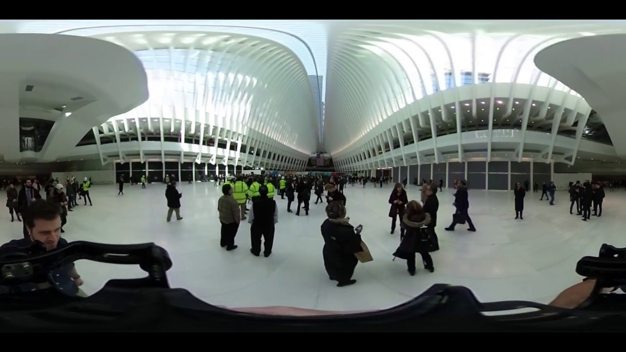 go inside the new world trade center transit hub with 360