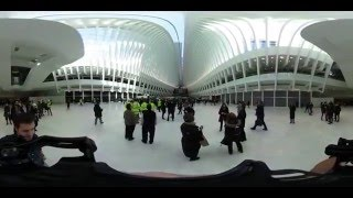 Go Inside the New World Trade Center Transit Hub with 360 Video