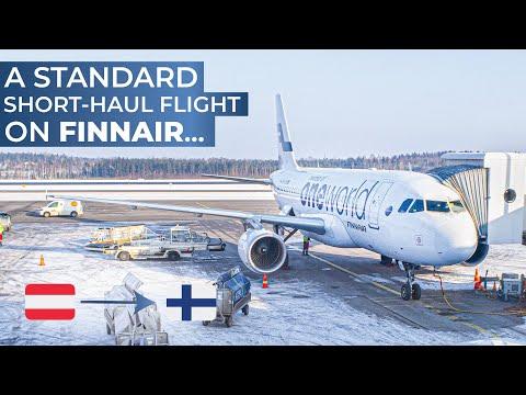 TRIPREPORT | Finnair (ECONOMY) | Vienna - Helsinki | Airbus A319