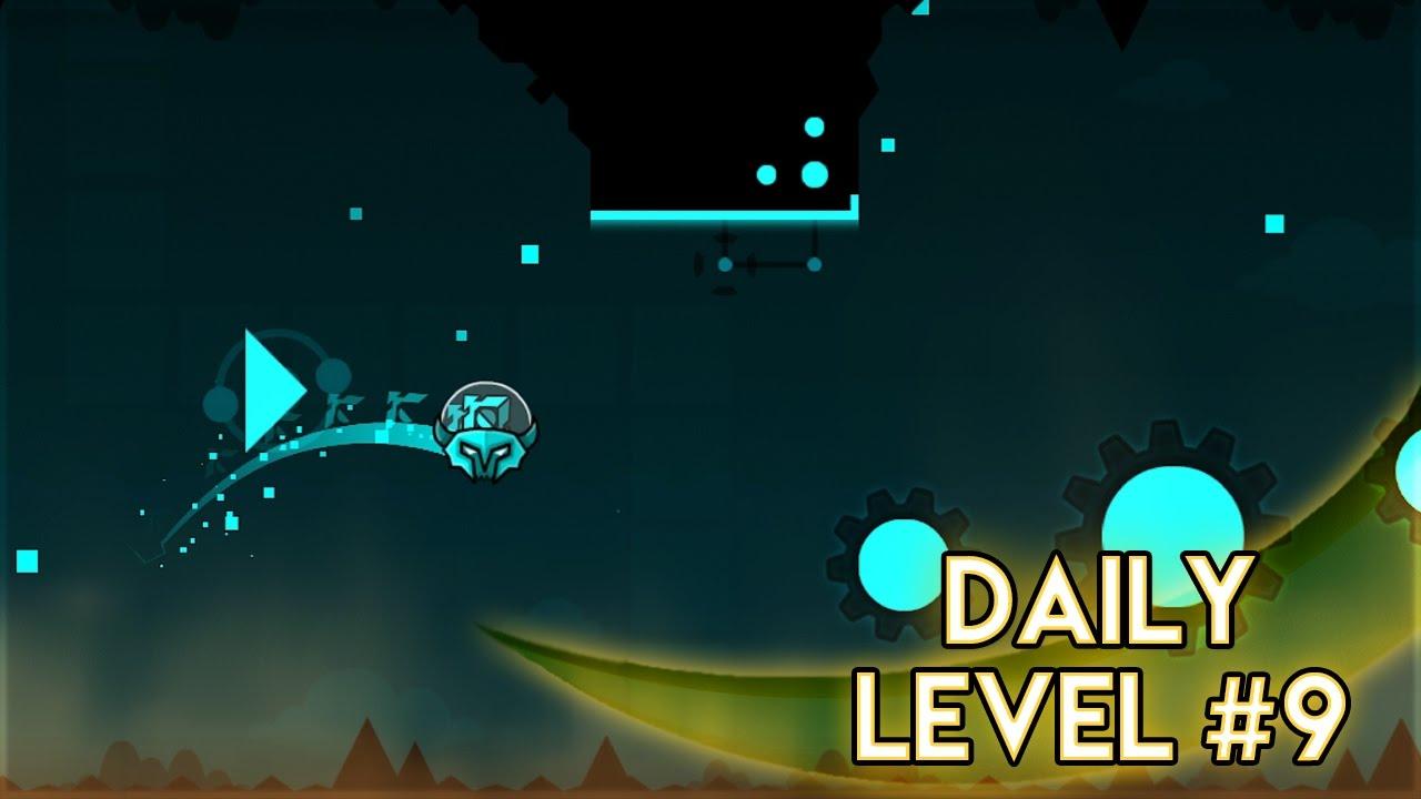 "DAILY LEVEL #9 | Geometry Dash World - ""Dusk"" by Schady ..."