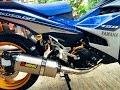 Test 5 loại pô độ trên Yamaha Exciter 150
