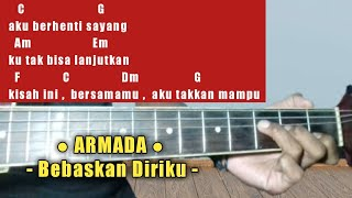 Kunci Gitar Mudah (Bebaskan Diriku - Armada) By Cisalado Tv (Tutorial Gitar Untuk Pemula)