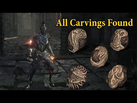 How to get all Carvings in Dark Souls 3