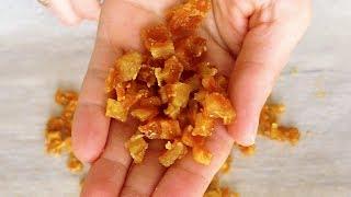 Готовлю вкусные домашние апельсиновые цукаты!*I cook delicious homemade orange candied fruits