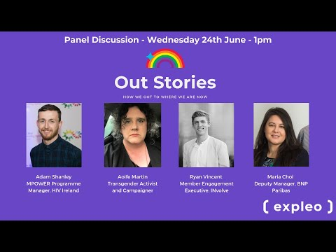 Expleo Ireland LGBTQ+ Panel Discussion Pride 2020