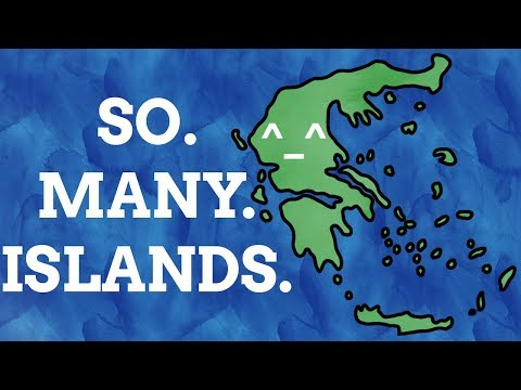 How Did The Greek Islands Get Their Names?
