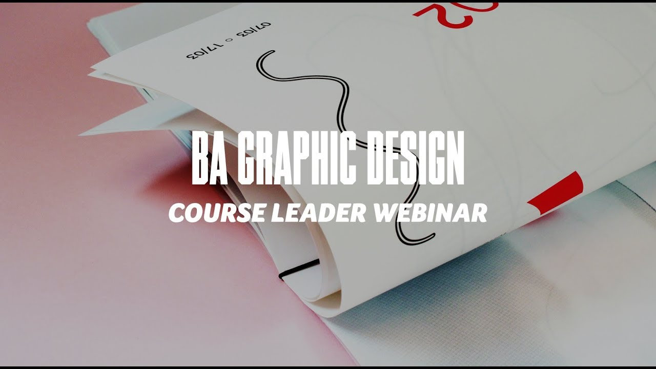 Course Webinar - BA Graphic Design