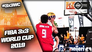 Re-Live - FIBA 3x3 World Cup 2019 - Pool Phase - Day 2 (1/2) - Amsterdam, Netherlands