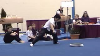 Four apparatus of Japanese men's rhythmic gymnastics.