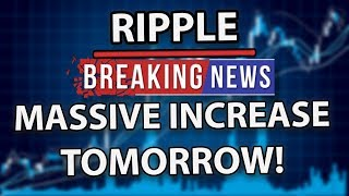 Ripple (XRP) Could Get A Massive Increase In Market Cap Tomorrow!