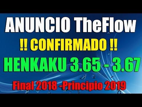 HENkaku Psvita 3.67 - 3.65 Anunciado por TheFlow - Final de Año 2018
