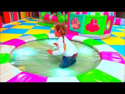 Детский центр в Турции Горки Батуты Лабиринт  развлечения для детей Playkids Entertainment Center