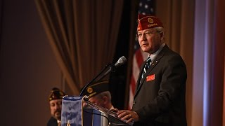Legion Commander addresses Washington Conference attendees