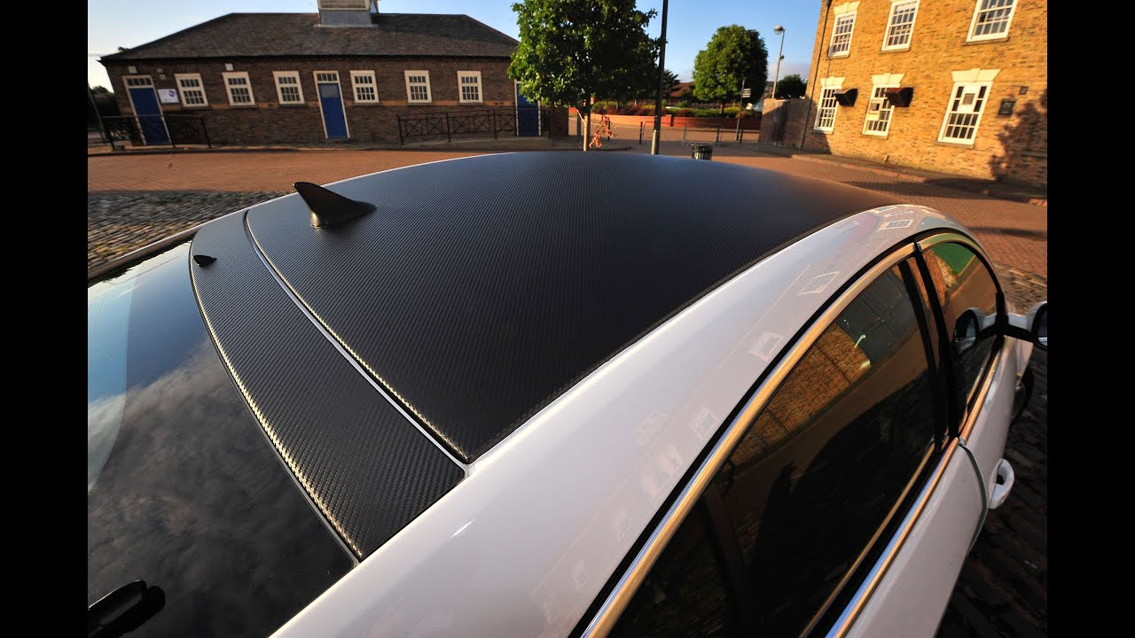 Attractive CARBON FIBRE ROOF WRAP 3M By WRAP MONKEY   YouTube