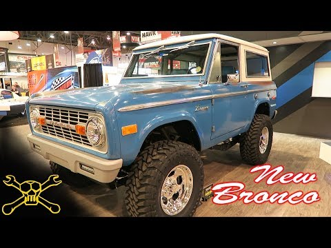 "Would You Buy A New ""Old"" Ford Bronco ?"