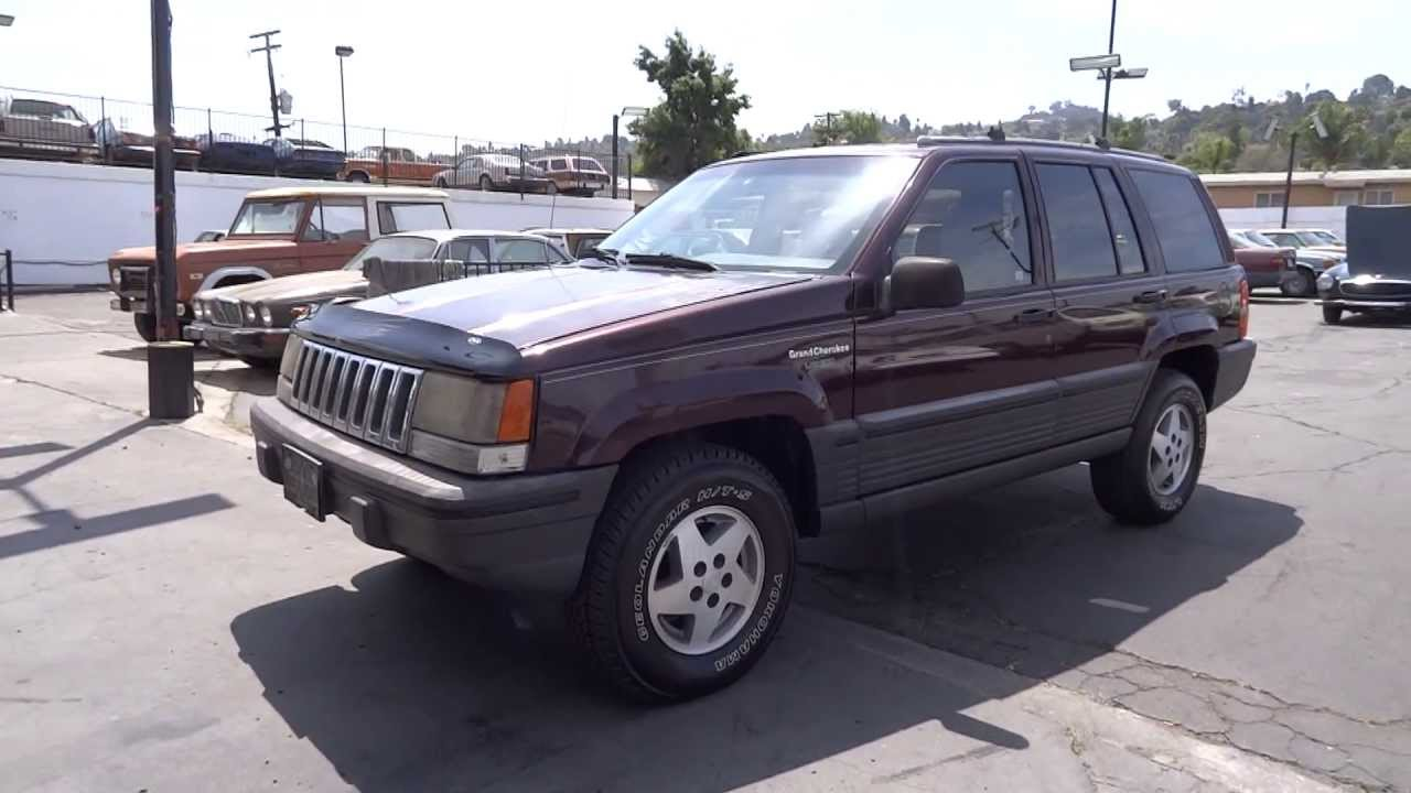 1994 jeep grand cherokee laredo sport zj se suv 4x4 5 2l v8 1 owner project [ 1280 x 720 Pixel ]