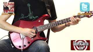 How to Play Dream Theater The Enemy Inside Solo LESSON - SoloAWeek 46