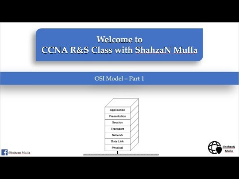 OSI Model Demystified | CCNA Routing and switching with Shahzan Mulla - Part 1