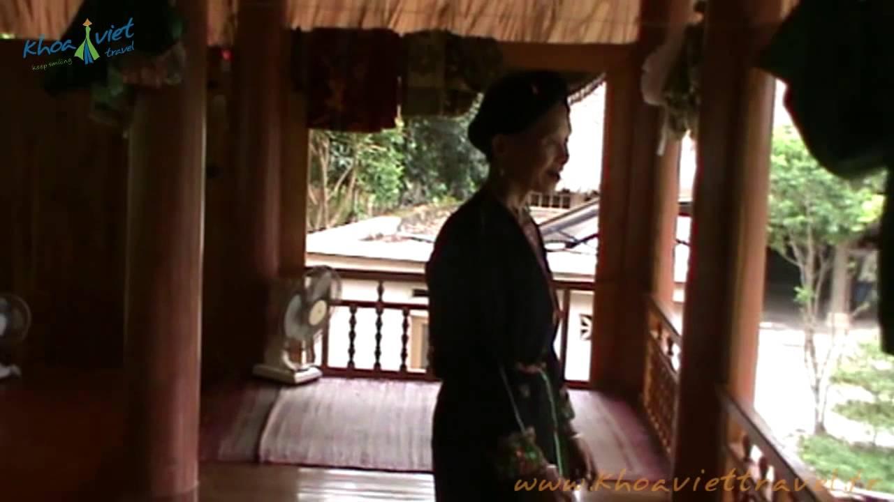 Overnight at Homestay Mr  Ba in village Ngoi Tu   Vu Linh   Thac Ba hydro lake   Yen Bai