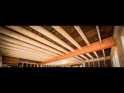Harrop House - Second Floor Joists