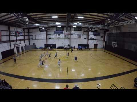 WCBA White vs Blue 1st Half   031117
