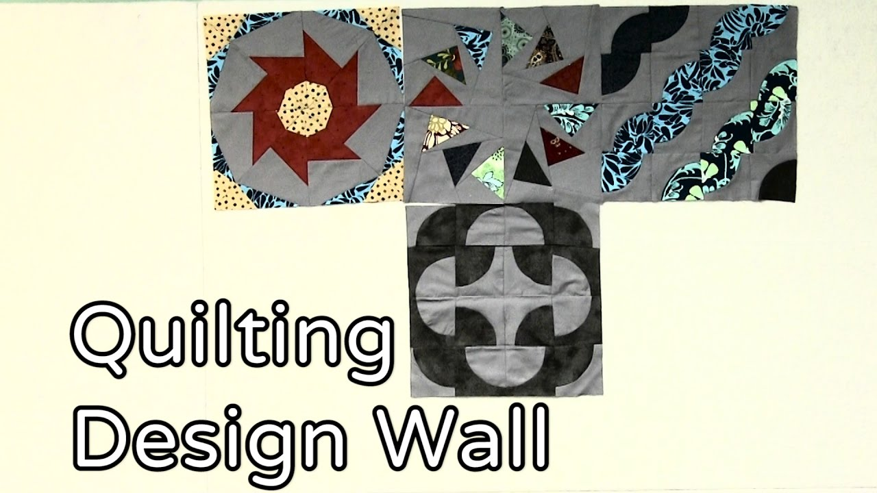 Design Wall For Quilting quilting design wall - youtube
