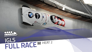 Igls | BMW IBSF World Cup 2016/2017 - 4-Man Bobsleigh Heat 2 | IBSF Official