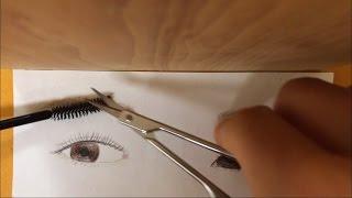 [한국어 KOREAN ASMR] eyebrow shaping, eyebrow salon roleplay, 눈썹정리, 눈썹관리 롤플레이