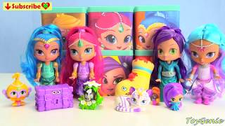 Learn Colors with Shimmer and Shine Slime Surprises