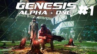 Genesis Alpha One PL - Nowy Survival od EPIC STORE - Kosmiczny Podbój | Gameplay PC po Polsku